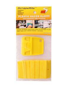 Scraperite 25 pack Hard Yellow