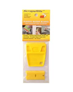 Scraperite 5 pack Lil'Gripper Hard Yellow blades