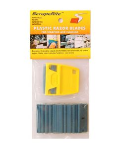 Scraperite 25 pack Medium Blue blades
