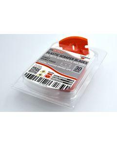 Scraperite Curvey replacement blades General Purpose Orange GPO thirty 30 pack SRC30GPO